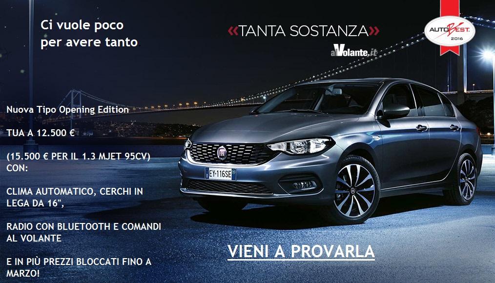 NUOVA FIAT TIPO !!!